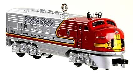 1997 hallmark 1950 santa fe f3 diesel locomotive