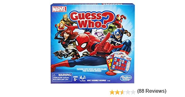 Marvel Edition Hasbro C1299 Game Guess Who