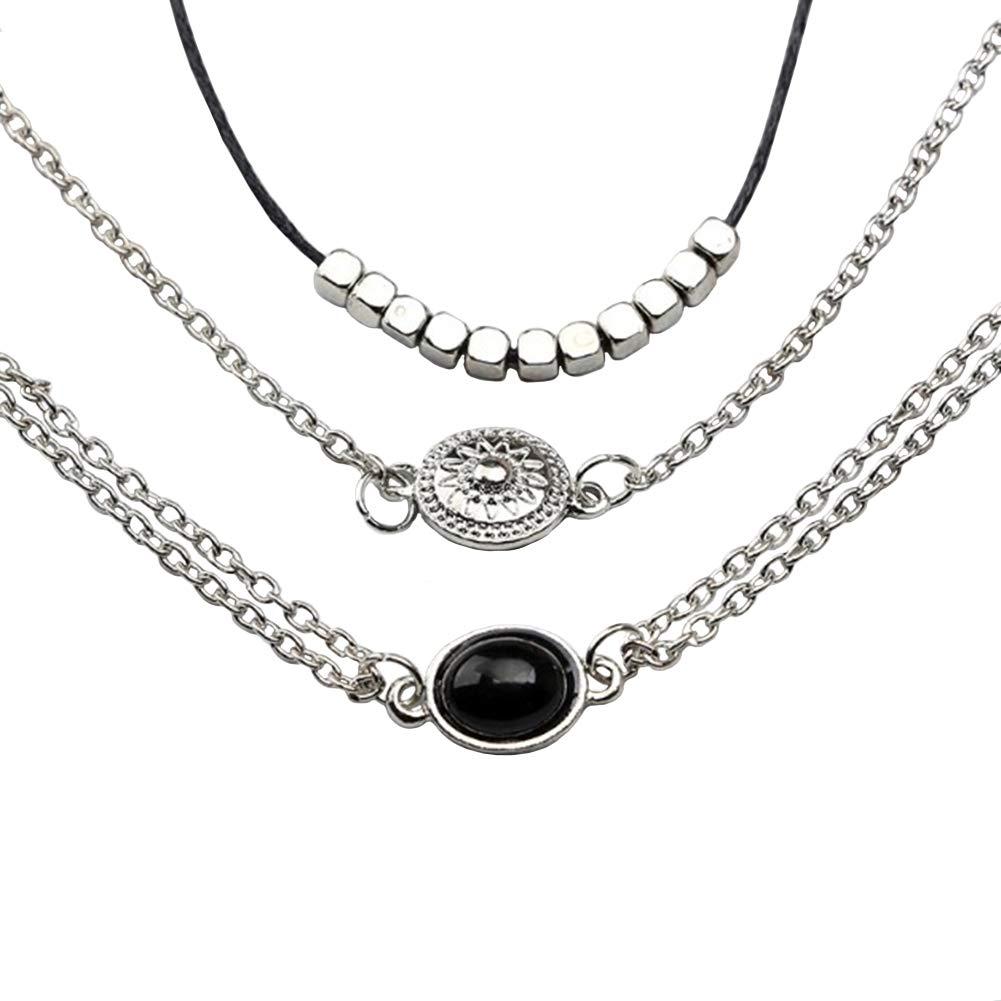 Choker, Elegant Women Multilayer Necklace Choker Collar Women Jewelry Gifts