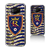 Keyscaper MLS Real Salt Lake Wave Glitter Case for Galaxy 8+, Clear
