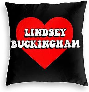 Xuanyang Lindsey Buckingham Pullover Hoodie Velvet Pillowcase Floor Pillowcase Sofa Cushion Cushion Cover Backrest Over Seat Cushion Interior