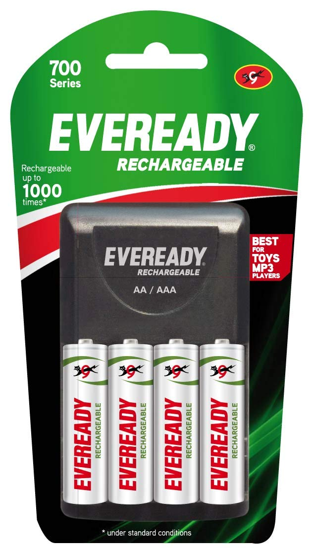 Eveready Ultima 700 Mah Aa Rechargeable Battery Charger Pack 4 Pieces Buy Online In Aruba At Aruba Desertcart Com Productid 135364011