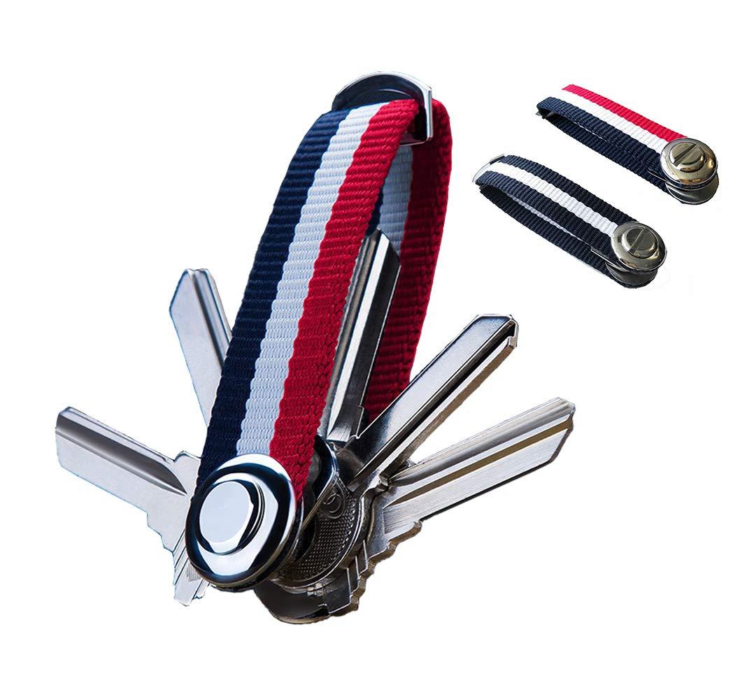 SUNSHINE EVERYDAY Multi-Function Keychain Key Storage Simple Fashion Premium Pendant & Ornament for Women Bags School Bag (1)