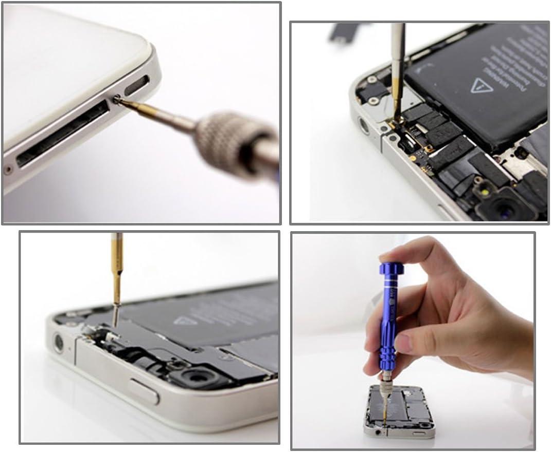 DUANDETAO 7 in 1 Professional Screwdriver Repair Open Tool Kit for iPhone