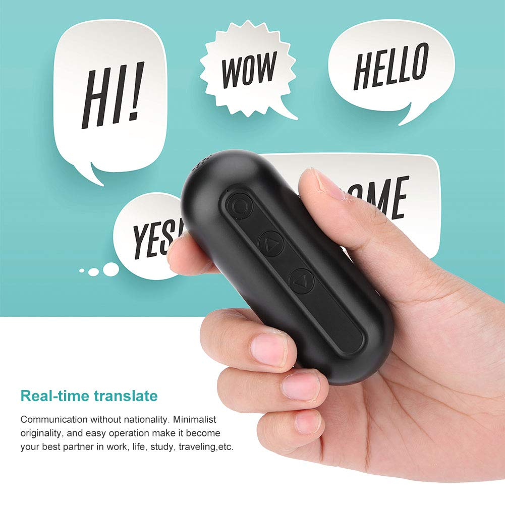 VBESTLIFE /Übersetzung Ohrh/örer Wei/ß Wireless und Smart Portable Bluetooth 4.1 Kopfh/örer,Multi Language /Übersetzer f/ür Lernen Business und Meeting etc Reisen
