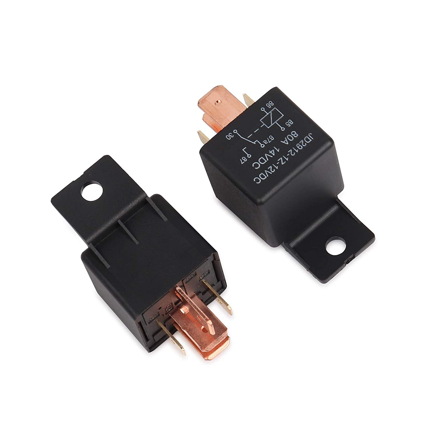 5-Pin JD2912-1Z-24VDC 80A 28VDC SPDT crogiolo di camion Van veicolo Automobili Relay 24V 5 Pack Ehdis/® interruttore