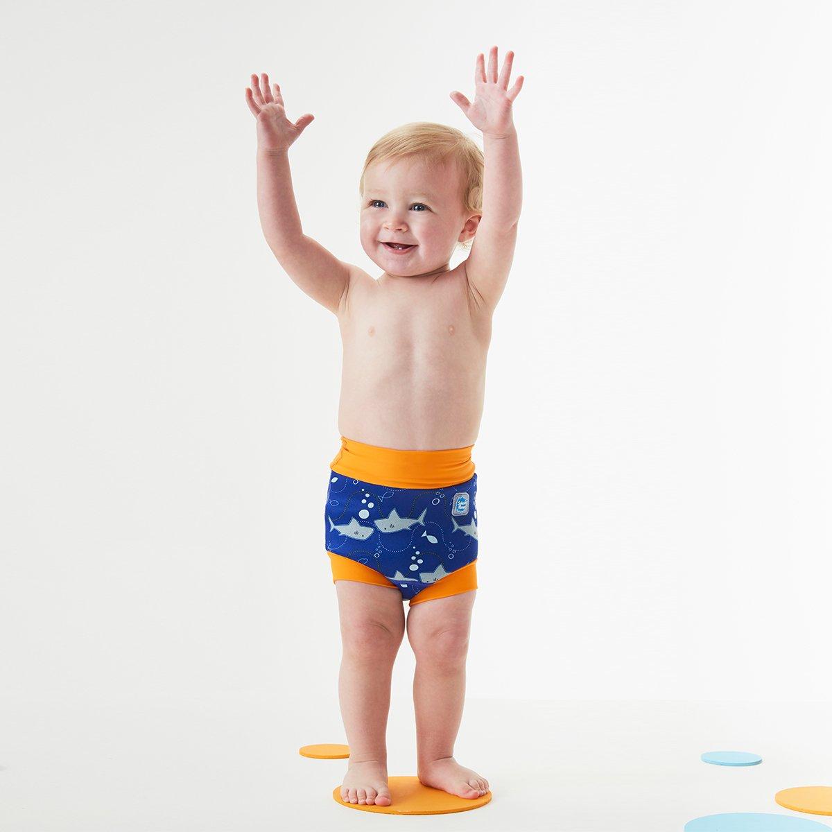 6-14 Months Surfs Up, Large Splash About Kids Reusable Swim Happy Nappy