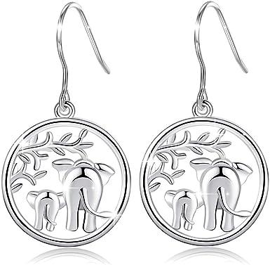 Your Choice Cute Enamel Elephant Earrings