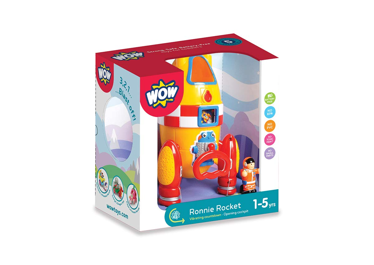Wow Ronnie The Rocket (2 Piece Play Set) by WOW Toys (Image #3)