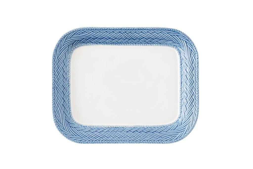 Juliska Le Panier White/Delft Blue 11.5 inch Platter