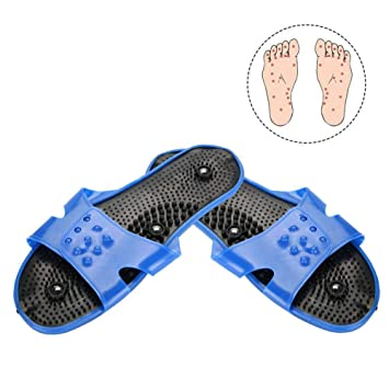 Aolvo Reflexology Sandals Accupressure Slippers Foot Therapy Massage Slippers