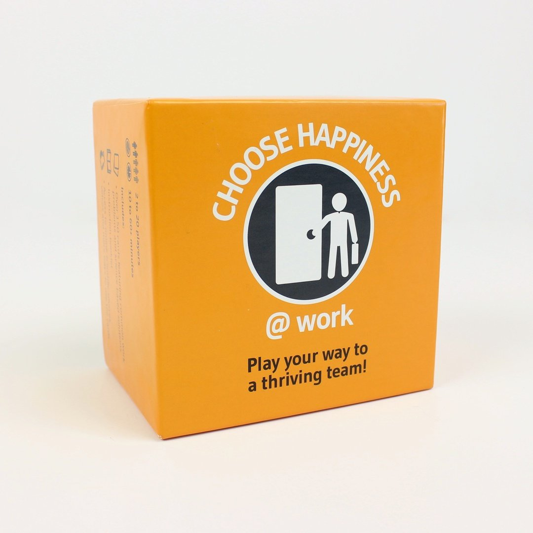 Choose Happiness @ Work Game: Build Teamwork, Morale, Motivation, and Employee Engagement