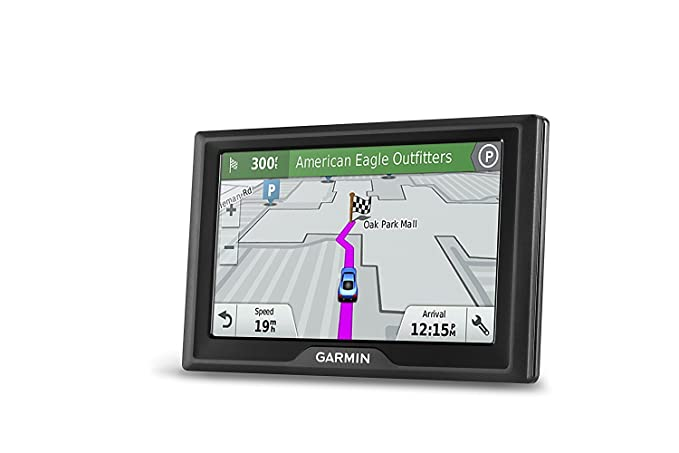 Garmin Drive 61 USA LM GPS Navigator System with Lifetime Maps, Spoken  Turn-By-Turn Directions, Direct Access, Driver Alerts, TripAdvisor and