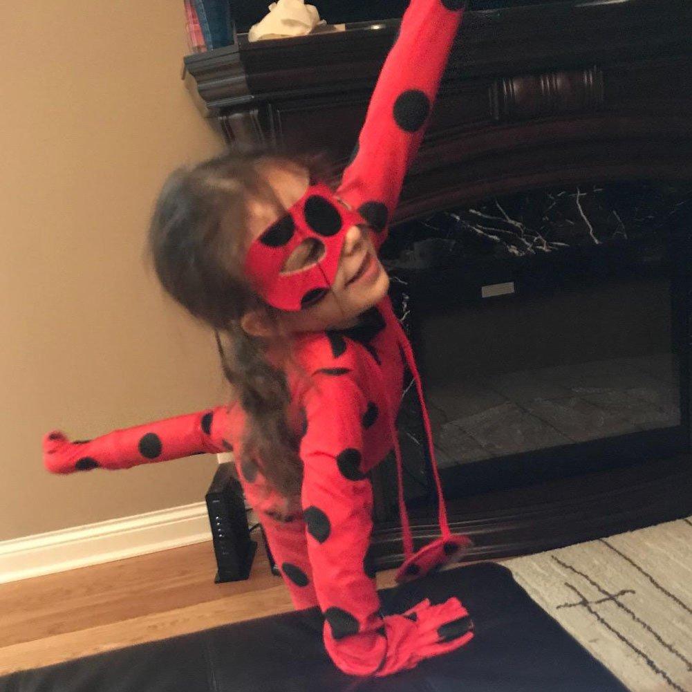 Da Mai Halloween Cosplay Ladybug Kid Costumes Chlid Little Beetle Suit by Da Mai (Image #5)