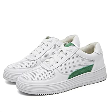 d07fed937b1b4 Amazon.com | Exing Womens's Shoes New Summer Fall Small White Shoes ...