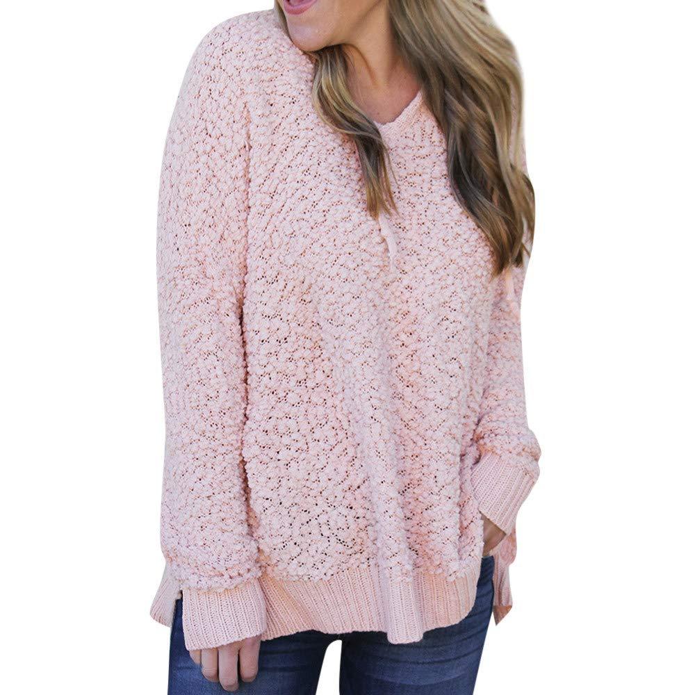 ShenPr Women's Casual Long Sleeve V Neck Athletic Sweaters Pullovers Blouse Shirts Fashion Hoodies Sweatshirts