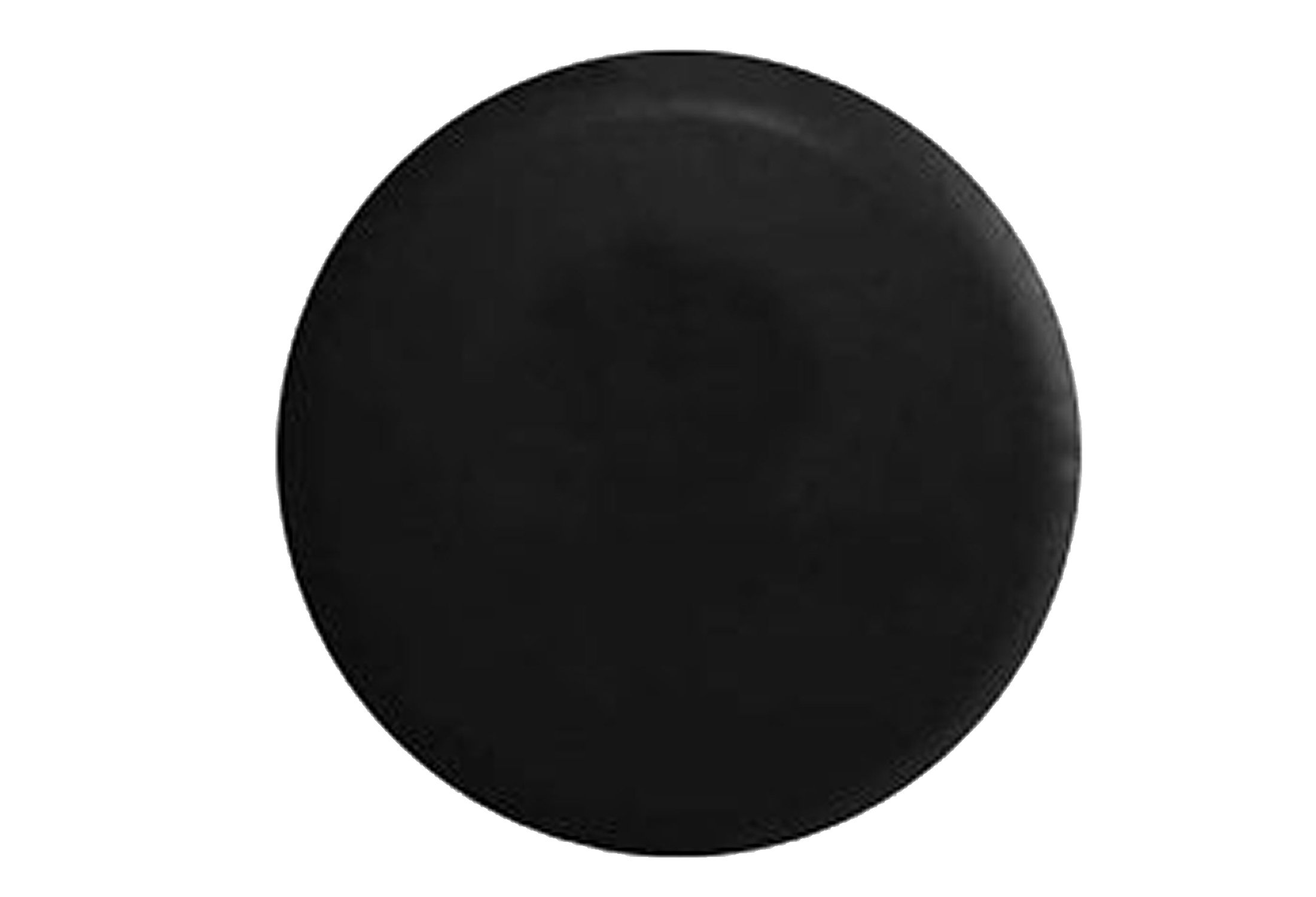 American Educational Products Marine Grade - Top Quality Blank Black Dealer Quality Spare Tire Cover OEM Vinyl (28'', Black)