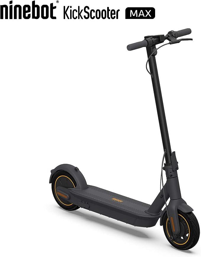 Amazon.com: SEGWAY Ninebot MAX Scooter eléctrico, batería de ...