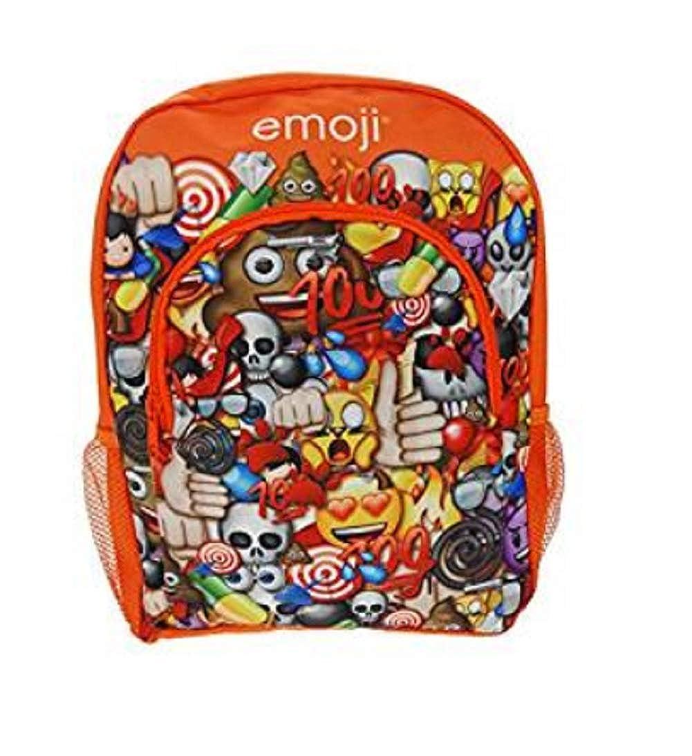 Boys Girls Kids Emoji Bags School Rucksack Satchel Kit Back Pack
