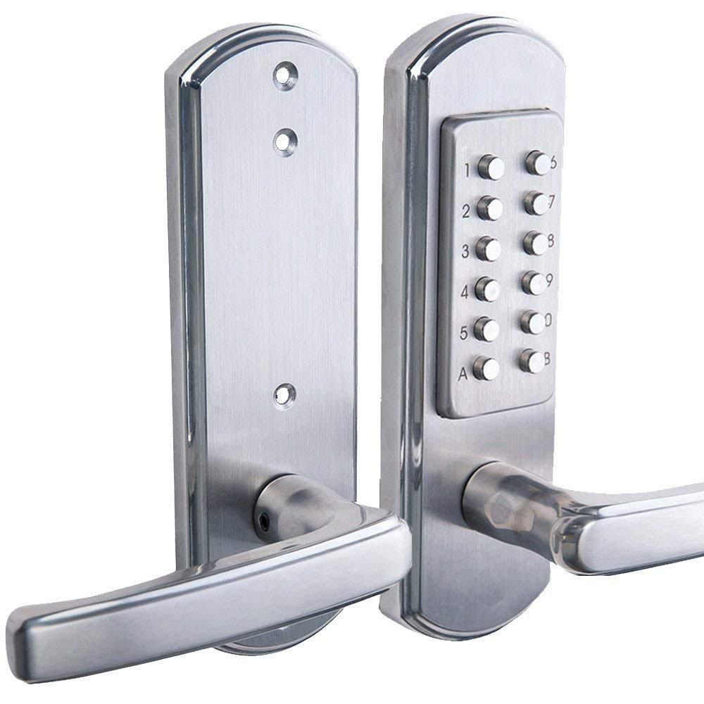 de Bravex Cierre de entrada sin llaves con clave de botones LEFT Handed LEFT ACCENT Upgrade