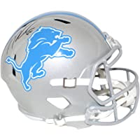 $229 » TJ Hockenson Autographed Detroit Lions F/S Speed Helmet Beckett BAS