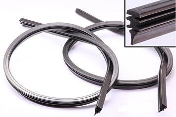 Alfarom Goma de Repuesto para Limpiaparabrisas Universal 700 Mm Bosch Aerotwin para Coche, 2 Unidades: Amazon.es: Coche y moto