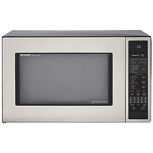 Sharp R-930 1-1/2-Cubic Feet 900-Watt Convection Microwave