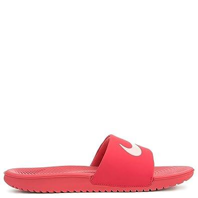 5b9f9d17e387 Nike Flip Flops- Kawa Slide (Gs Ps) Pink Coral Size  38.5  Amazon.co.uk   Shoes   Bags