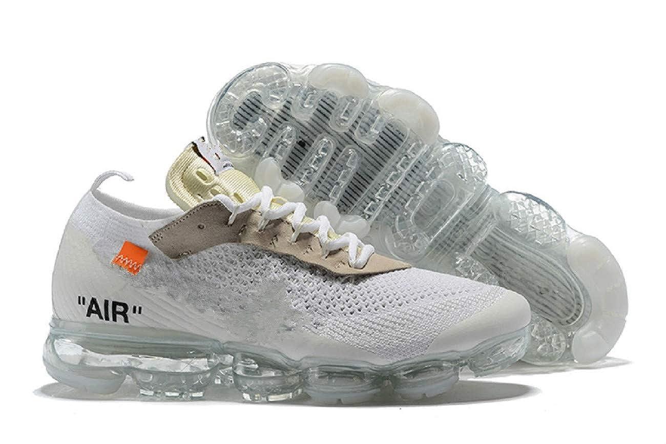 Vapormax 2018 Respirables y Zapatillas de Deporte de Moda para Mujer (43 EU, White): Amazon.es: Zapatos y complementos