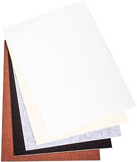 Blanc//coloré carré Mélange Sac Alphabet Perles Acryliques 6x6mm Environ 290PCs
