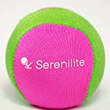 Stress Ball by Serenilite - Optimal Stress Relief & Hand Therapy Gel Squeeze Ball - Great for Hand Exercises and Strengthening - Dual Color (Springtime Serenity)
