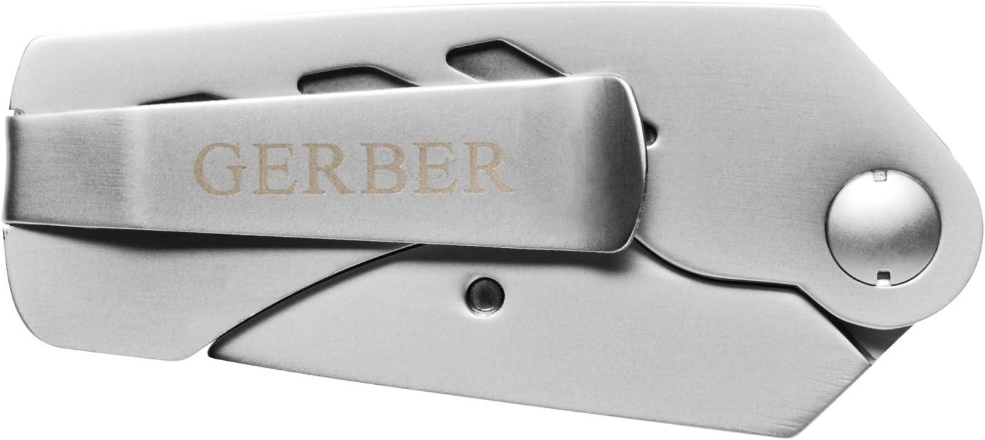 Klingenl/änge: 6,7 cm Gerber Cuttermesser Edelstahl Klappbar Edge 31-000668