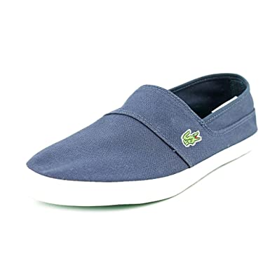 01d30be21 Lacoste Marice PMN Mens Blue Canvas Loafers Shoes Size UK 7  Amazon.co.uk   Shoes   Bags