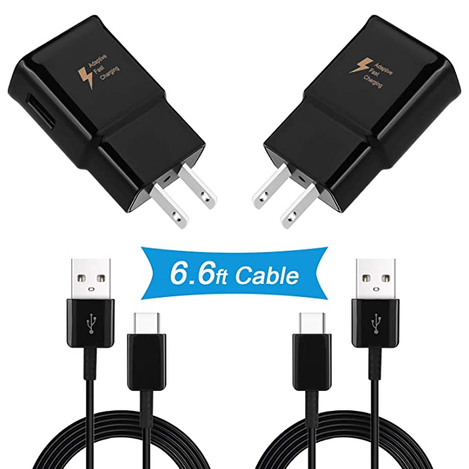 Cargador rápido USB C Samsung, DiHines Adaptive Fast Wall Charger ...