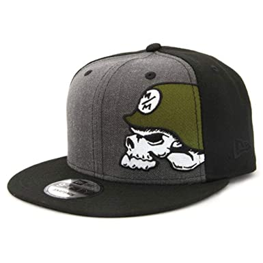 27f76f28 Image Unavailable. Image not available for. Color: Metal Mulisha Men's  Cover Black Snapback Hat