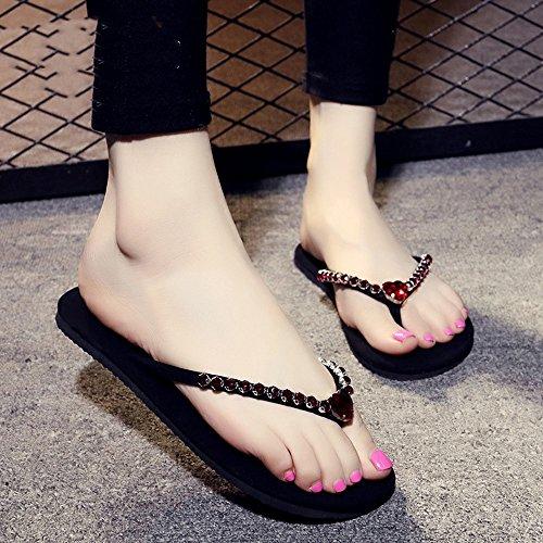 avec Décontractés à en pour Main Femmes 5 1cm HAIZHEN EU39 Faits 7 la Femmes Femmes pour Taille Chaussures UK6 CN39 Couleur Pantalons Diamant 8 Couleurs vq5wYOF