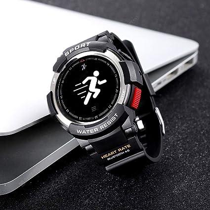 Amazon.com: I-D-S Shop NO.1 F6 Smartwatch IP68 Waterproof ...