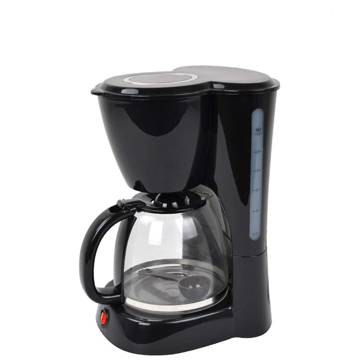大人気の 1.5L 12-Cup Drip Coffee with Maker Thermal Steel, Coffeemaker Drip with Coffee Filter, Stainless Steel, Black 110V/220V (110V) B07586FB37, ワイシャツのトレンドスタンダード:9c979b51 --- arianechie.dominiotemporario.com