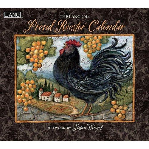 [2014 Calendar] Susan Winget Proud Rooster 2014 Wall Calendar Standard Wall Calendar