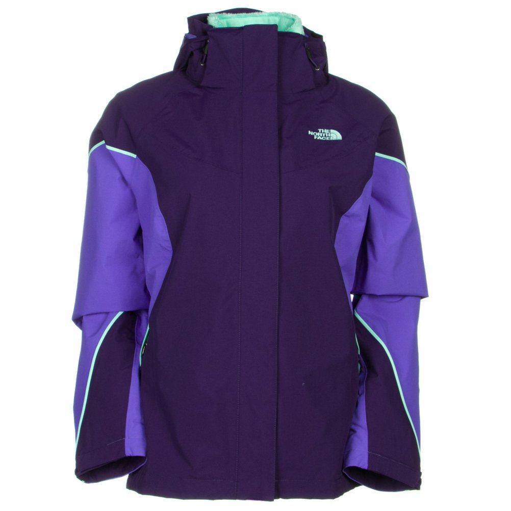 Garnet Purple Starry Purple Surf Green The North Face Women's Boundary Triclimate Jacket