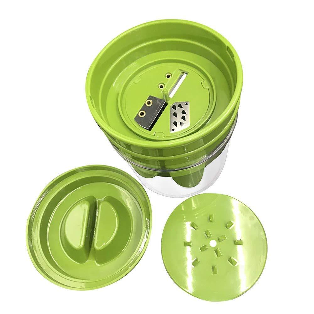 Go Cart Go 1PCS multi-function shredder plastic vegetable peeler double planer grinder grater household kitchen accessories cooking toolsM4 by Go Cart Go (Image #1)