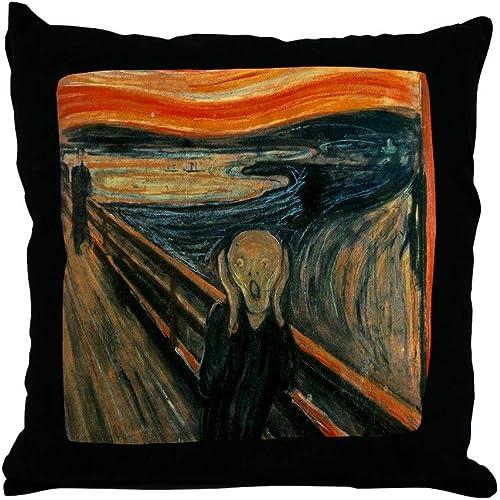CafePress-The Scream-Throw Pillow