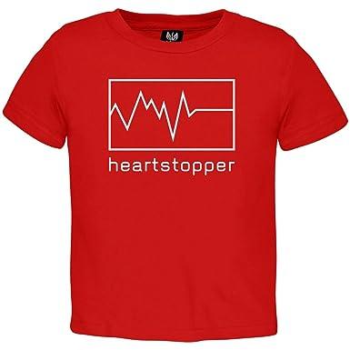 Außergewöhnlich Valentineu0027s Day   Heartstopper Toddler T Shirt   2T Red