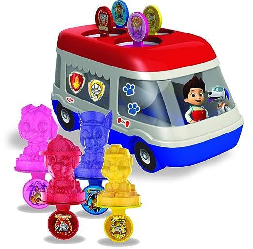 Amazon Com Amav Paw Patrol Ice Pops Truck Machine Kit For Kids