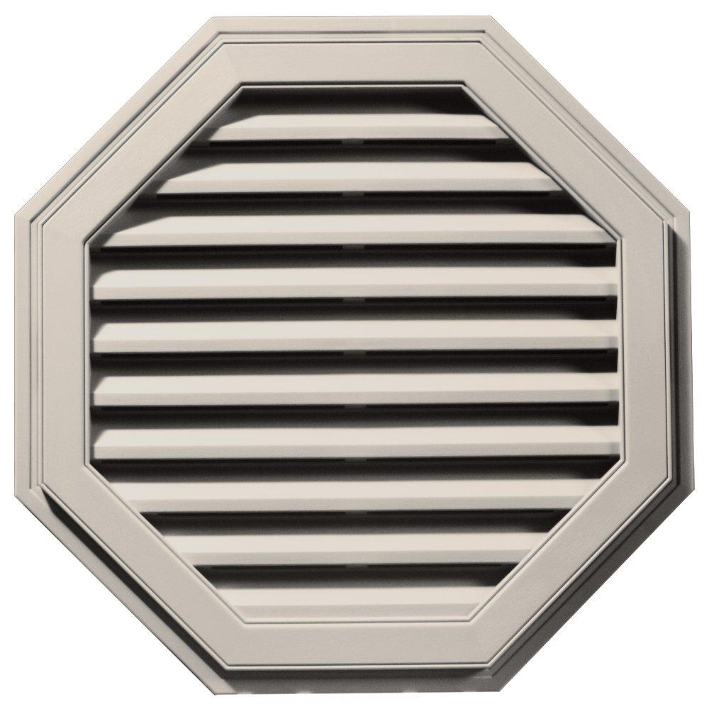 Builders Edge 120013232048 32'' Octagon Vent 048, Almond