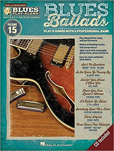 Book Blues Ballads: Blues Play-Along Volume 15