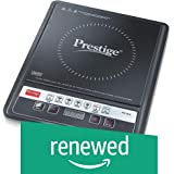 (Renewed) Prestige Glass Anti-Magnetic Wall Induction Cooktop Medium(Black, PIC 24)