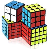 4'lü Zeka Küpü Seti (2x2, 3x3, 4x4, 5x5) Akıl Küpü Seti Rübik Küp