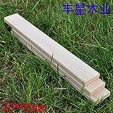Wood floor wood outdoor wood 100 * 2 * 9cm