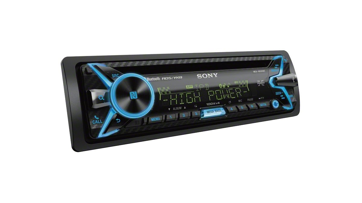 Amazon.com: Sony MEX-XB100BT Single DIN Hi-Power Bluetooth In-Dash